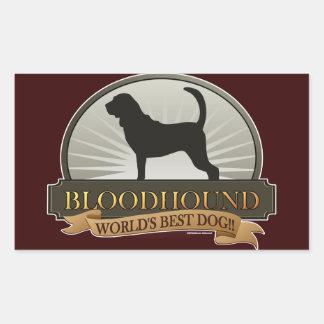 Bloodhound Rectangular Sticker