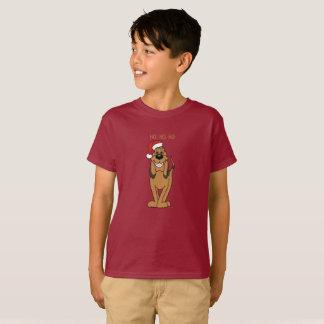 Bloodhound Santa T-Shirt