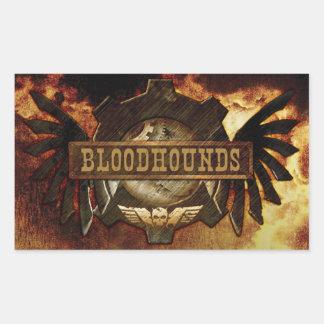 Bloodhounds Logo Sticker (Rectangle)