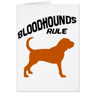 Bloodhounds Rule Card