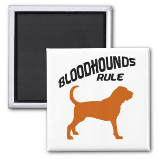 Bloodhounds Rule Magnet