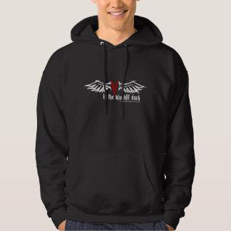 Bloodlit Radio Vampyre Angel Wings Hooded Pullovers