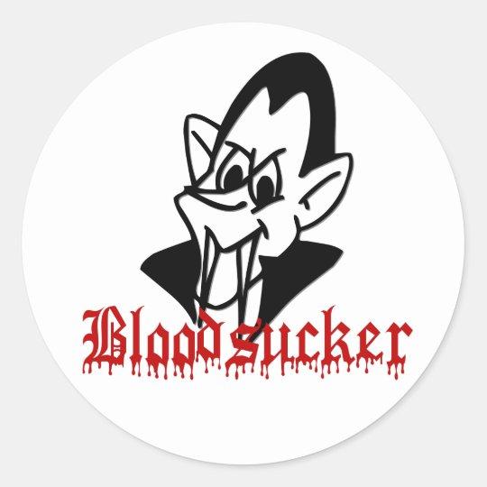 Bloodsucker Vampire Halloween Stickers