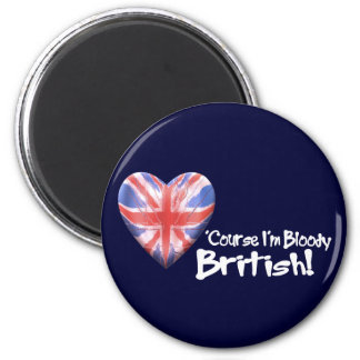 Bloody British Magnet