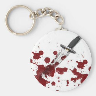 Bloody Dagger Keychain