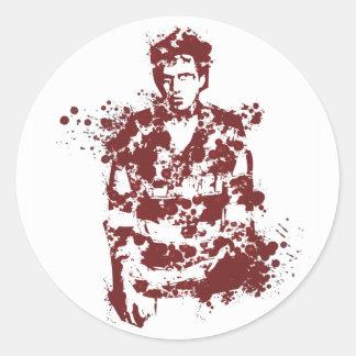 Bloody Eric Round Stickers