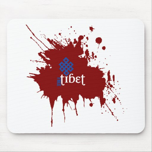 Bloody free tibet mouse pad