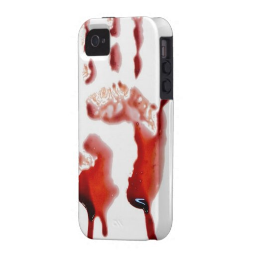 Bloody Hand Case For The iPhone 4