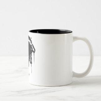 Bloody hand mug