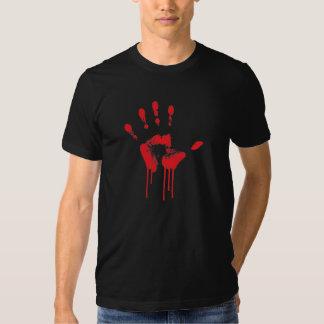 Bloody Hand Print Shirt