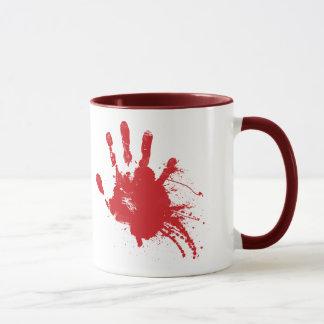 Bloody Handprint Mug