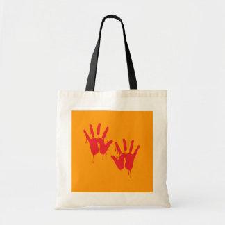 BLOODY HANDS - Halloween - png Tote Bag