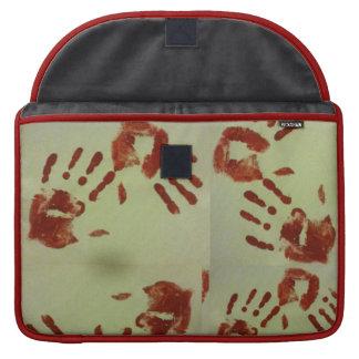 Bloody Hands Lap Top Case MacBook Pro Sleeves