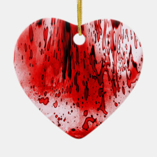 Bloody Heart Christmas Ornament