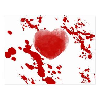 Bloody Heart Postcard