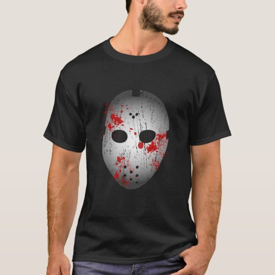 Bloody Hockey Mask T-Shirt