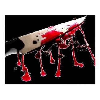 Bloody Knife II Postcard