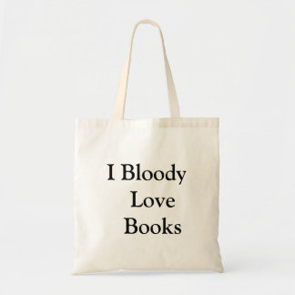 """""""Bloody Love Books"""" Funny Book Lovers"""