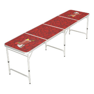 Bloody Mary Beer Pong Table