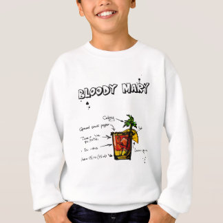 Bloody Mary Cocktail Recipe Sweatshirt