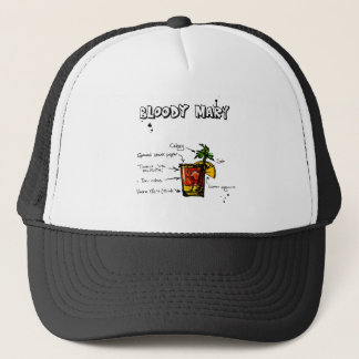Bloody Mary Cocktail Recipe Trucker Hat