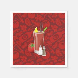 Bloody Mary Disposable Napkins