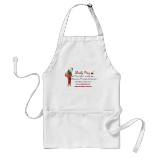 Bloody Mary Drink Recipe Standard Apron