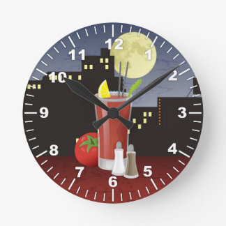 Bloody Mary Wall Clocks