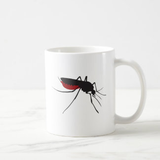 Bloody mosquito coffee mug