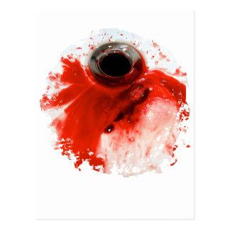 Bloody Nose Sink Postcard