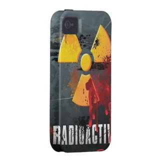 Bloody Radioactive iPhone 4 Case/Tough