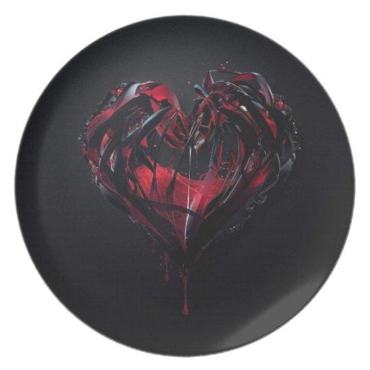 Bloody Romance Plate