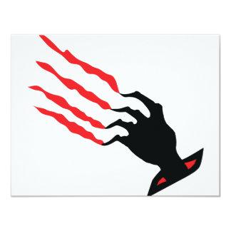 bloody Scratch hand Custom Invite