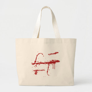 Bloody Slice Tote Bag