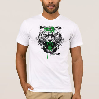 Bloody Tiger Attack T-Shirt