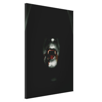 Bloody Vampire Gallery Wrapped Canvas