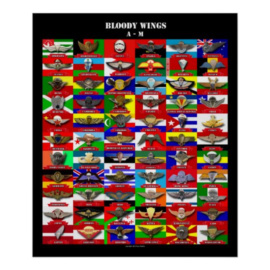Bloody Wings 1 (engl.) Poster