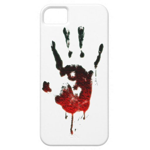 Bloody Zombie Hand iPhone 5/5S Cases