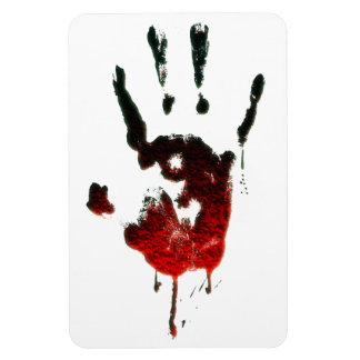 Bloody Zombie Hand Vinyl Magnet