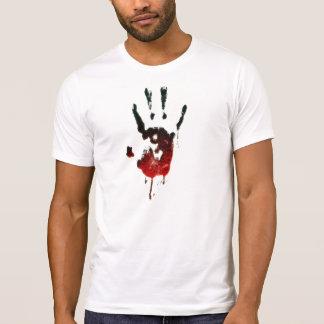Bloody Zombie Hand Tee Shirts
