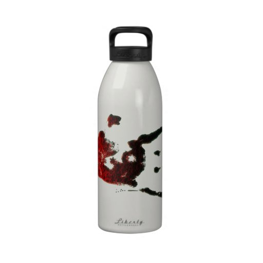 Bloody Zombie Hand Reusable Water Bottles