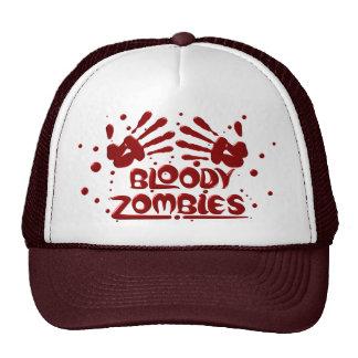 Bloody Zombies Caps Trucker Hats