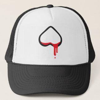 bloodyheart_deerBLN Trucker Hat