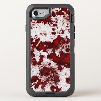 BloodyWhiteFabric60 OtterBox Defender iPhone 8/7 Case