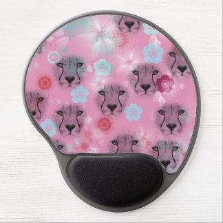Bloom cat cherry tree gel mouse pad