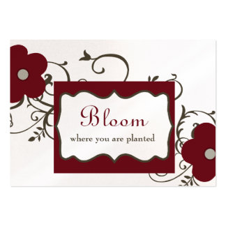 Bloom Chubby Business Cards