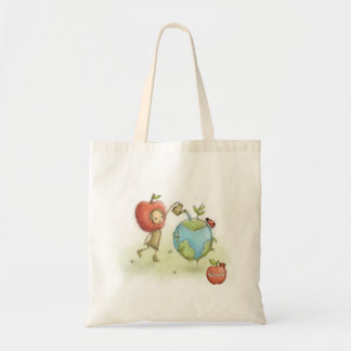 Bloom'd - Environment - Apple face - Tote bag