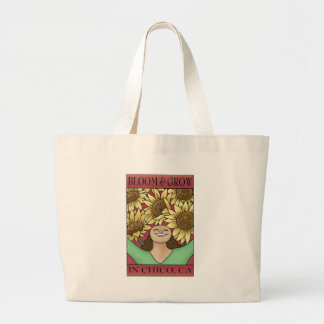 Bloom & Grow in Chico, CA Large Tote Bag