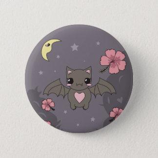 Bloom the Fruit Bat 6 Cm Round Badge