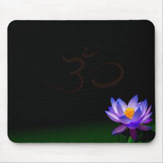 Bloomed blue Lotus mousepad